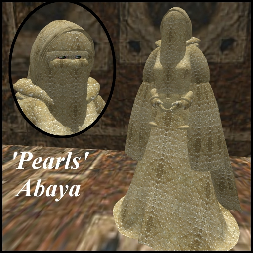 Pearls_Abaya